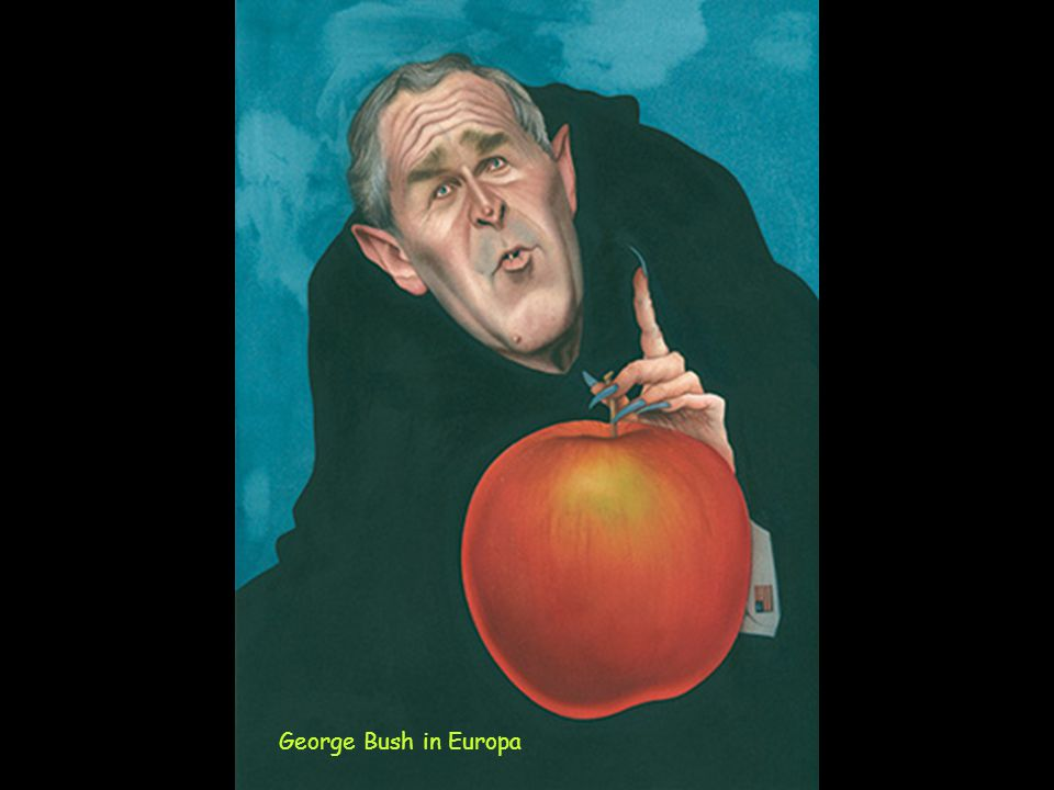 George Bush in Europa