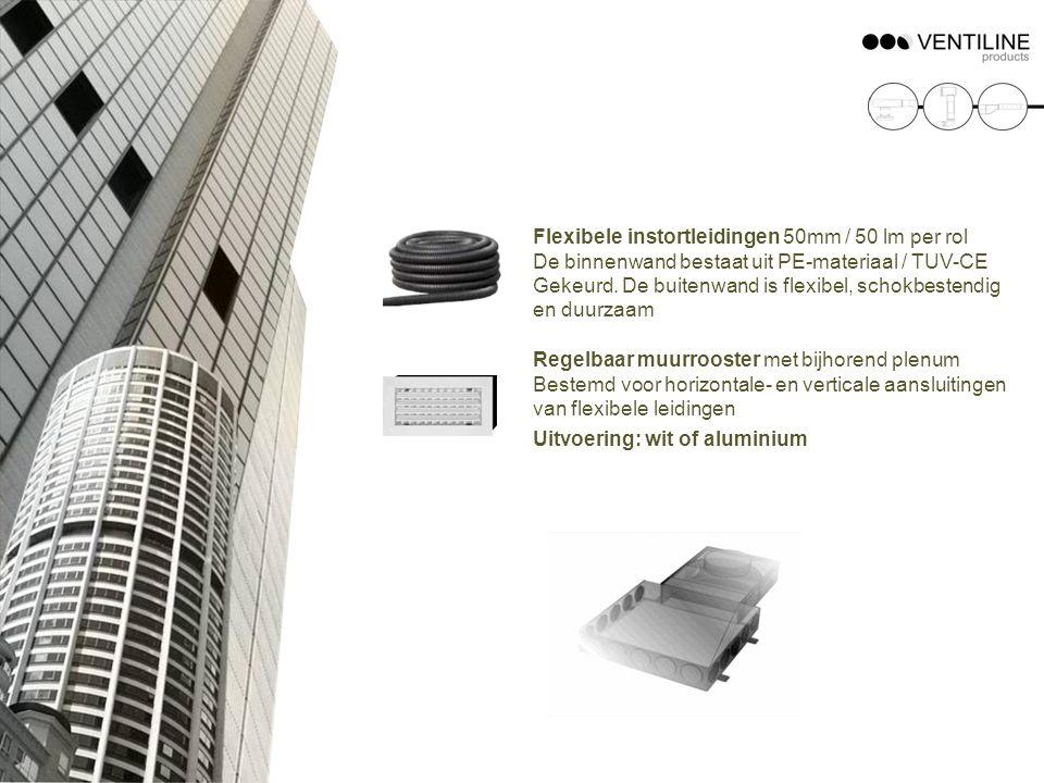 Flexibele instortleidingen 50mm / 50 lm per rol