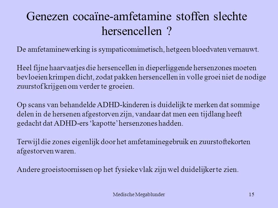 Genezen cocaïne-amfetamine stoffen slechte hersencellen