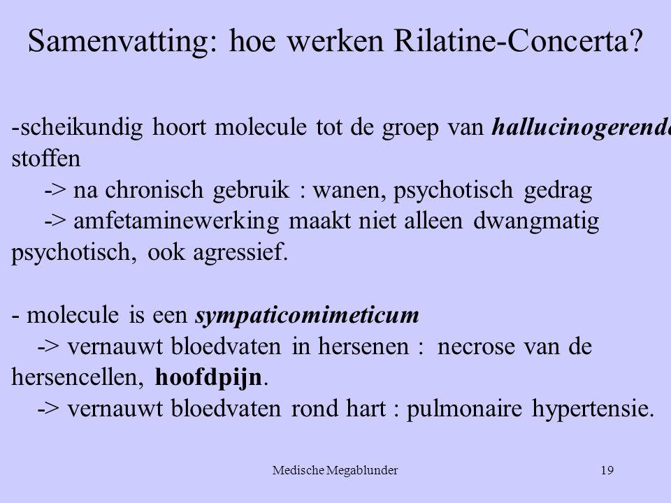 Samenvatting: hoe werken Rilatine-Concerta