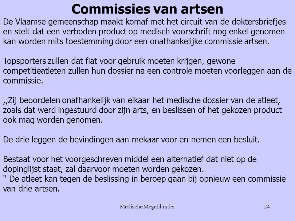 Commissies van artsen
