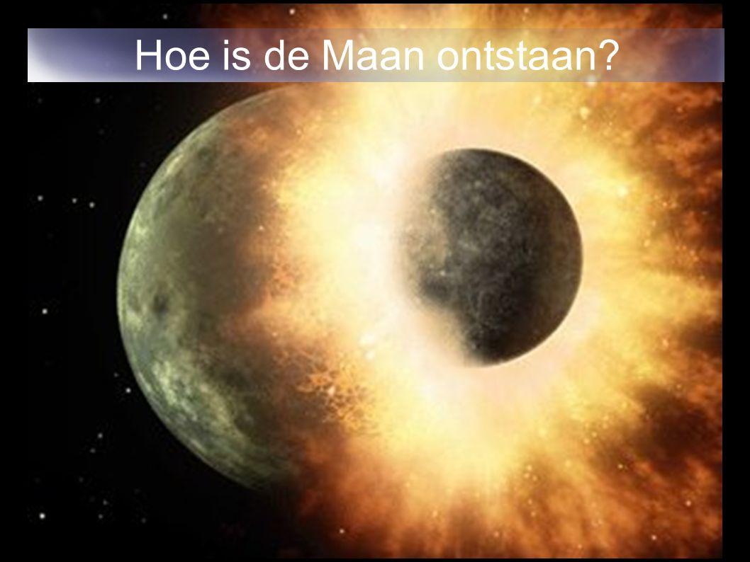 Hoe is de Maan ontstaan