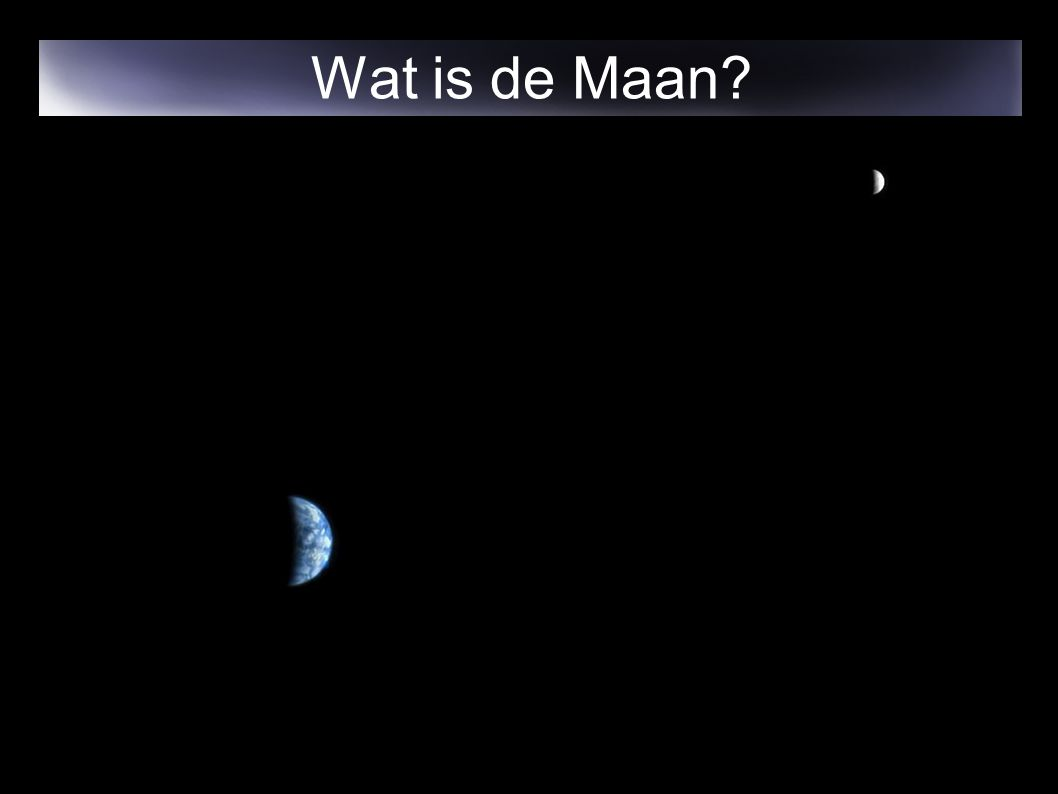 Wat is de Maan
