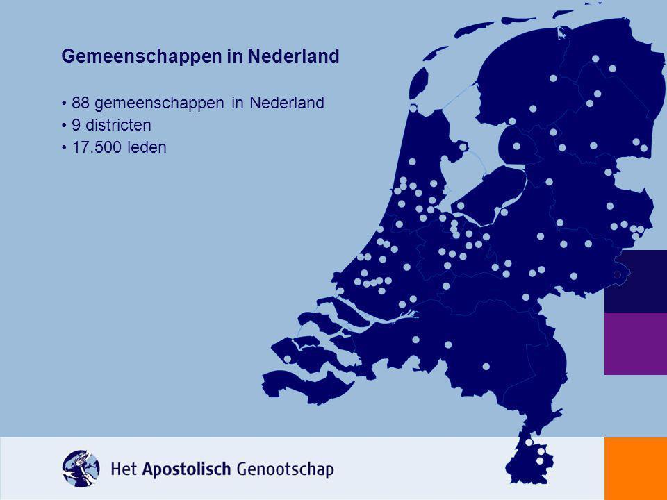 Gemeenschappen in Nederland