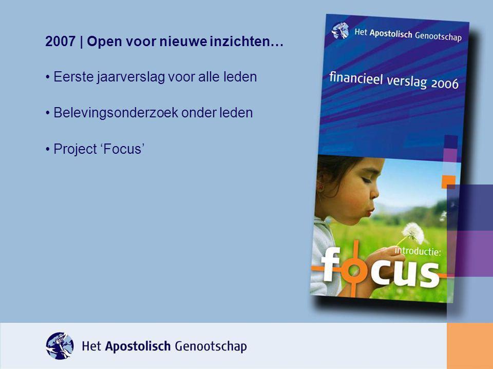 2007 | Open voor nieuwe inzichten…