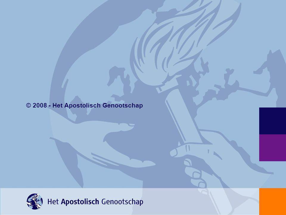 © 2008 - Het Apostolisch Genootschap