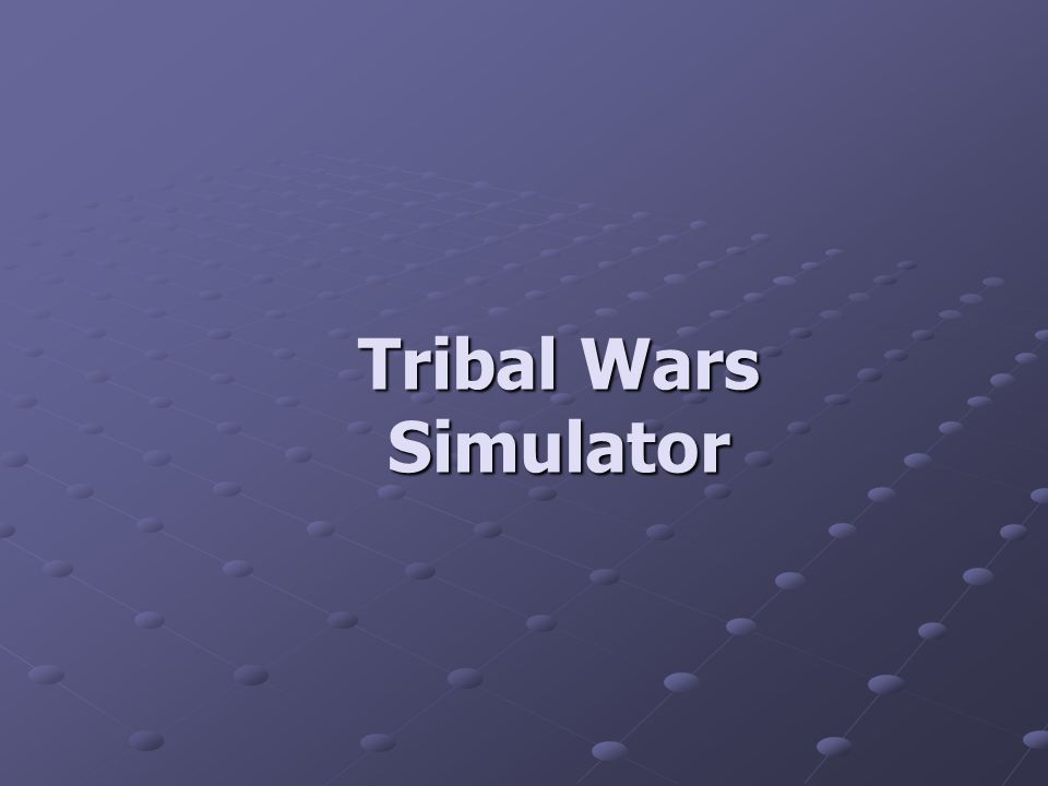 Tribal Wars Simulator
