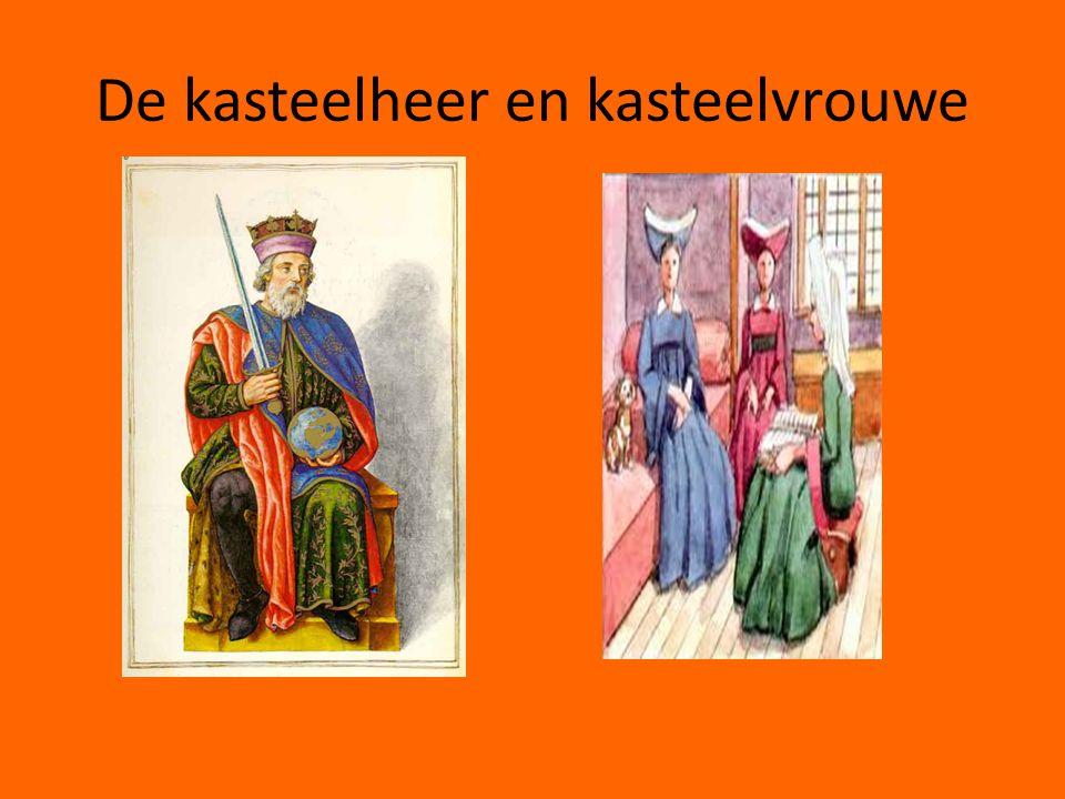 De kasteelheer en kasteelvrouwe