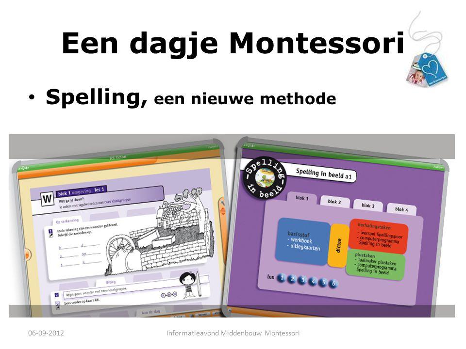 Informatieavond Middenbouw Montessori