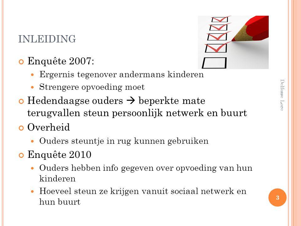 inleiding Enquête 2007: Ergernis tegenover andermans kinderen. Strengere opvoeding moet.