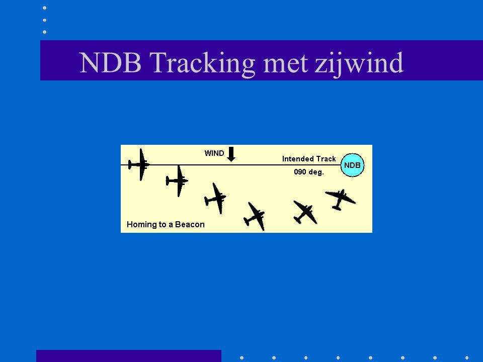 NDB Tracking met zijwind
