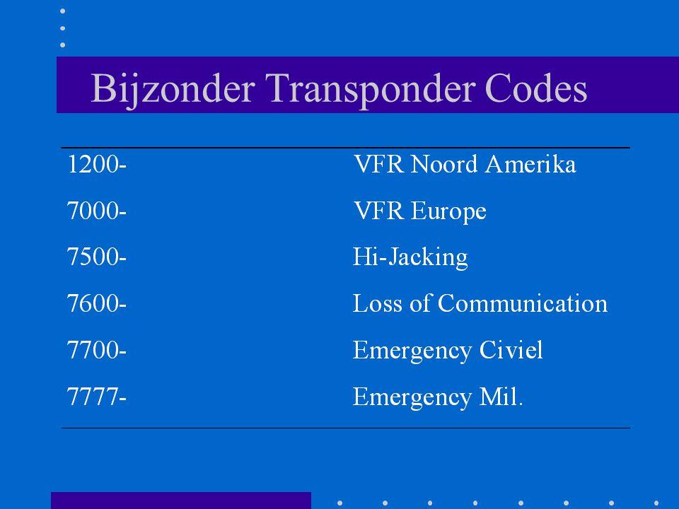Bijzonder Transponder Codes