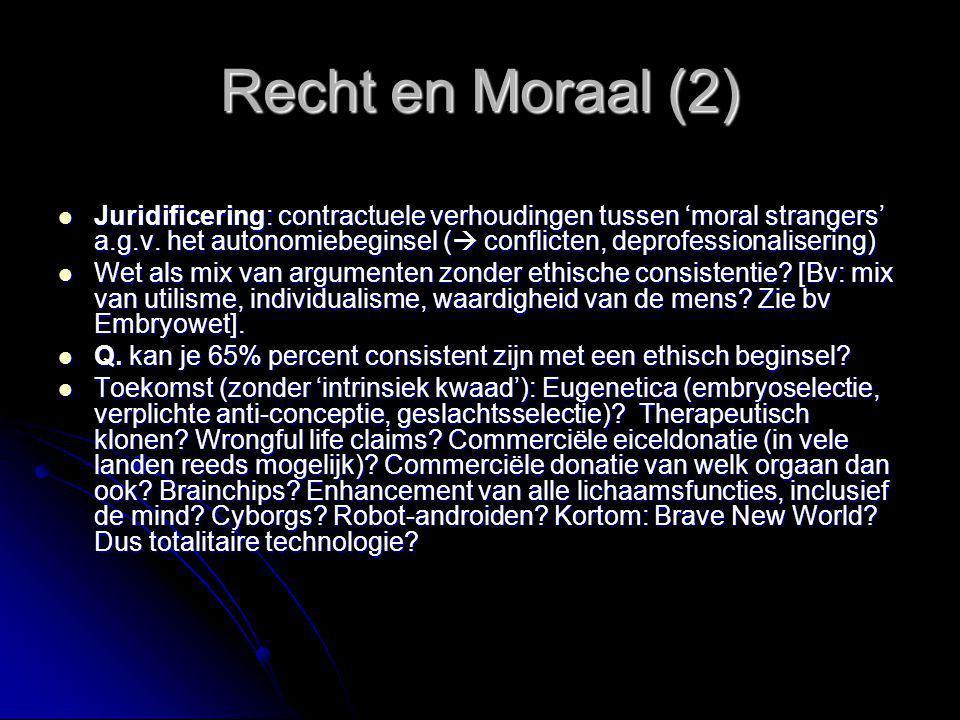 Recht en Moraal (2)