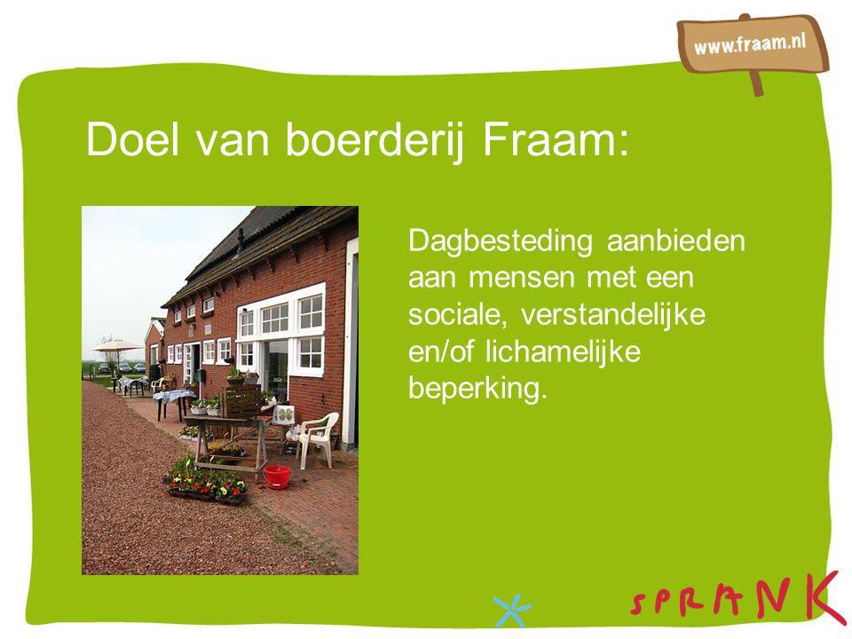 Doel van boerderij Fraam: