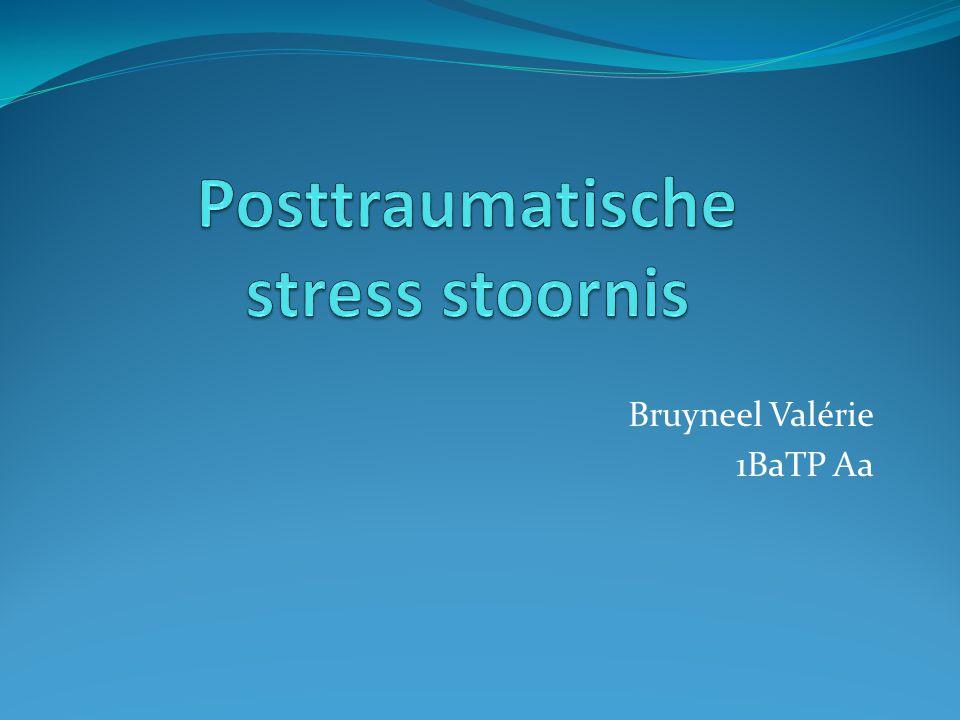 Posttraumatische stress stoornis