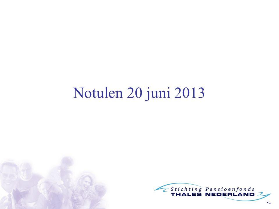 Notulen 20 juni 2013
