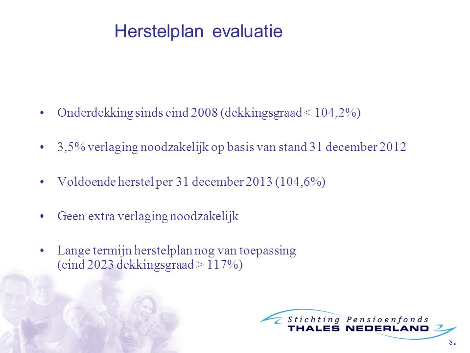 Herstelplan evaluatie