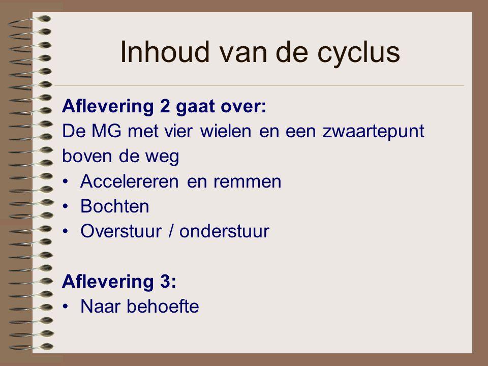 Inhoud van de cyclus Aflevering 2 gaat over: