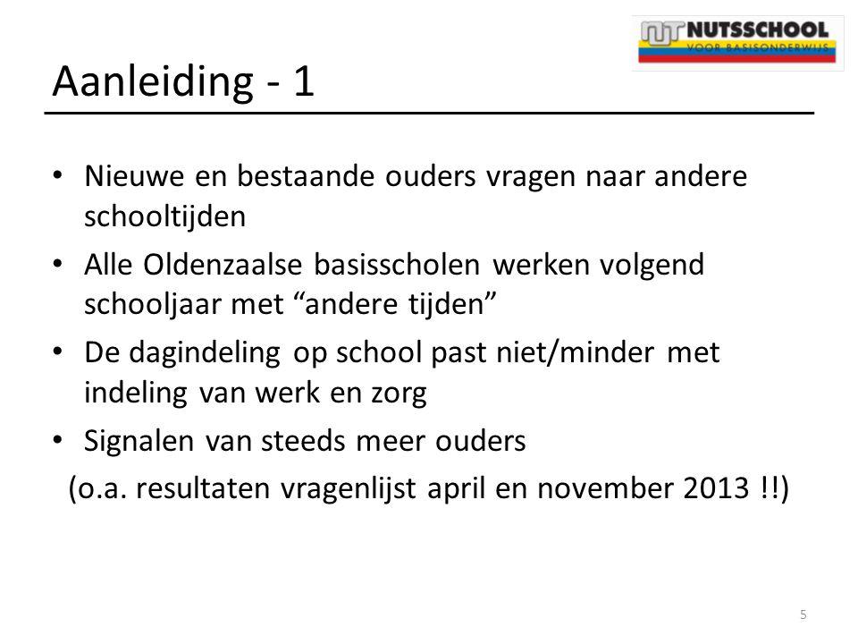 (o.a. resultaten vragenlijst april en november 2013 !!)