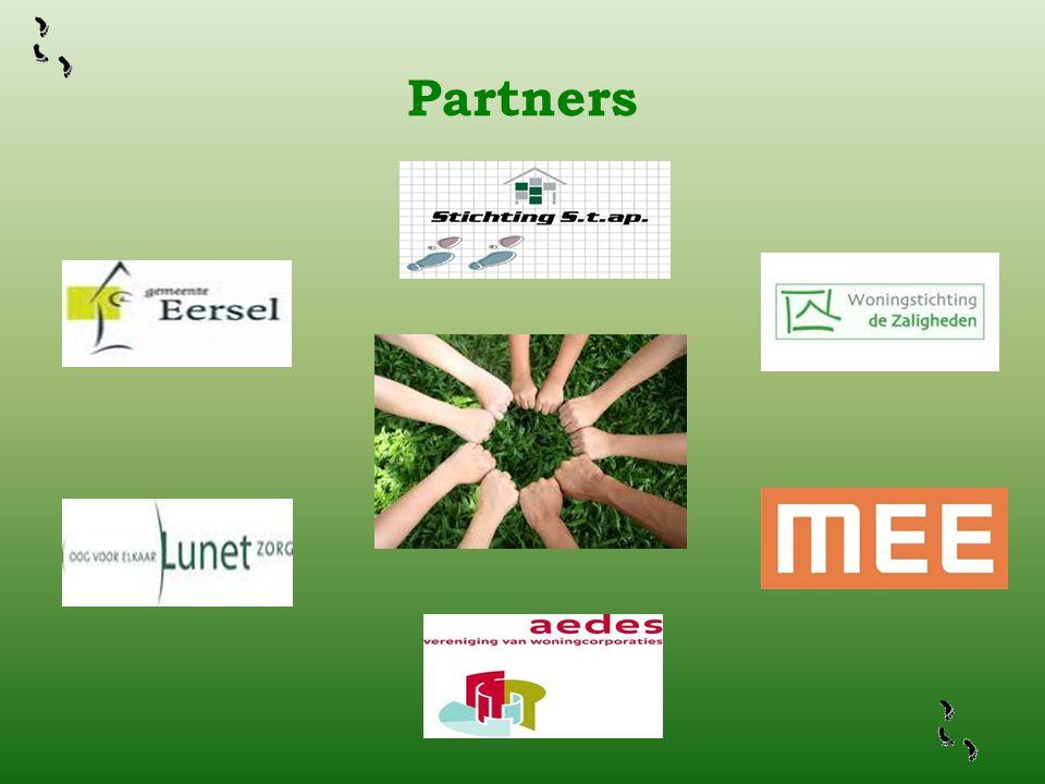 Partners Om tot een succesvol project te komen kunnen we het niet alleen en derhalve hebben we een aantal partners gezocht en gevonden.