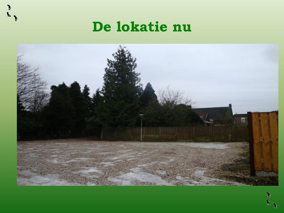 De lokatie nu Zo ziet de lokatie er thans gedeeltelijk uit…. Dit roept om bebouwd te worden!