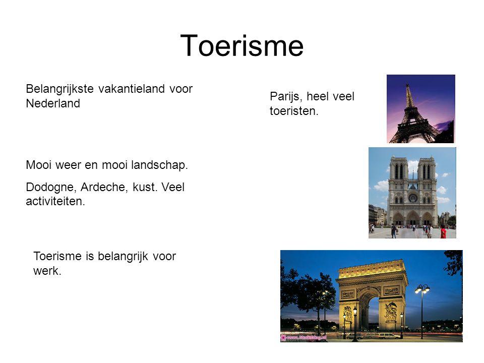 Toerisme Belangrijkste vakantieland voor Nederland