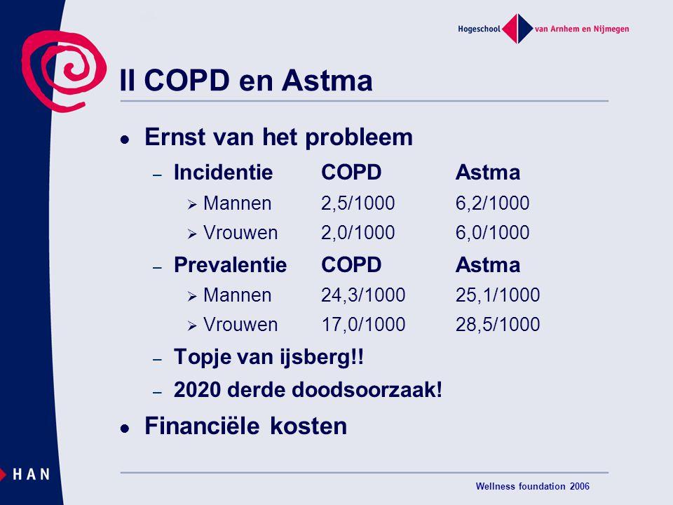 II COPD en Astma Ernst van het probleem Financiële kosten