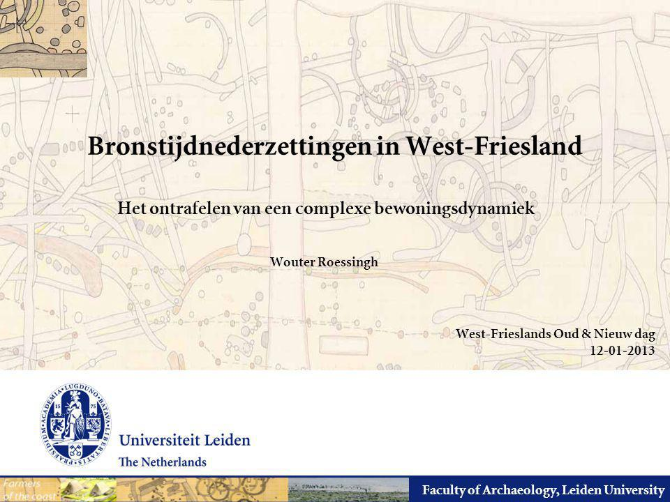 Bronstijdnederzettingen in West-Friesland