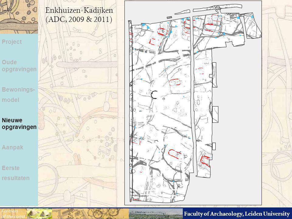 Enkhuizen-Kadijken (ADC, 2009 & 2011) Project Oude opgravingen