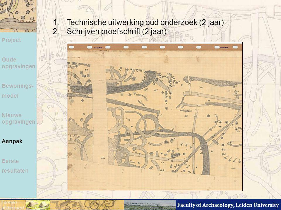 Technische uitwerking oud onderzoek (2 jaar)