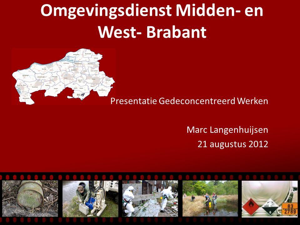 Omgevingsdienst Midden- en West- Brabant