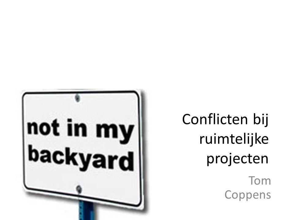 Conflicten bij ruimtelijke projecten