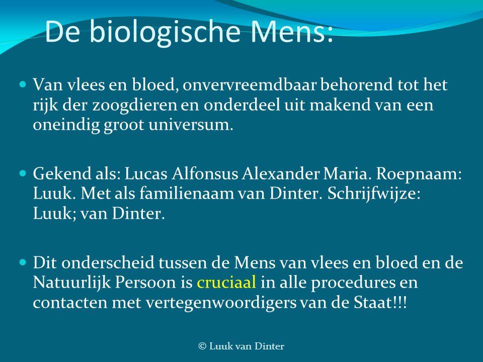 De biologische Mens: