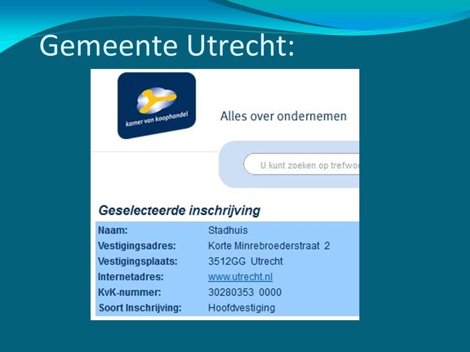 Gemeente Utrecht: