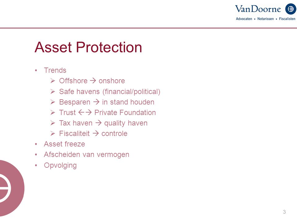 Asset Protection Trends Offshore  onshore