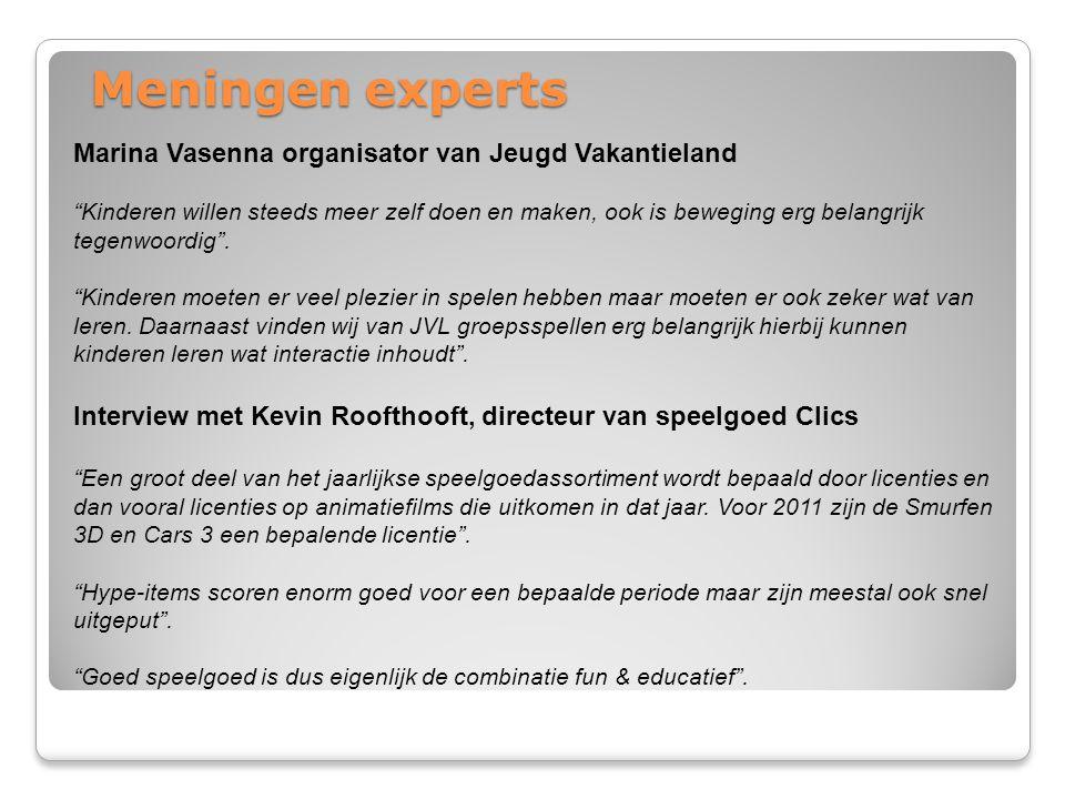 Meningen experts Marina Vasenna organisator van Jeugd Vakantieland