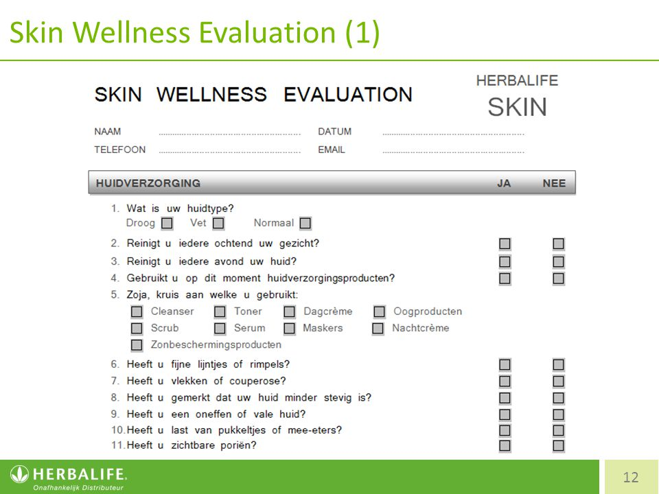 Skin Wellness Evaluation (1)