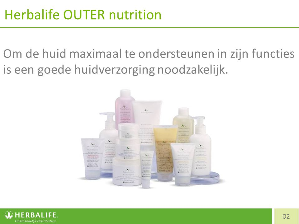 Herbalife OUTER nutrition