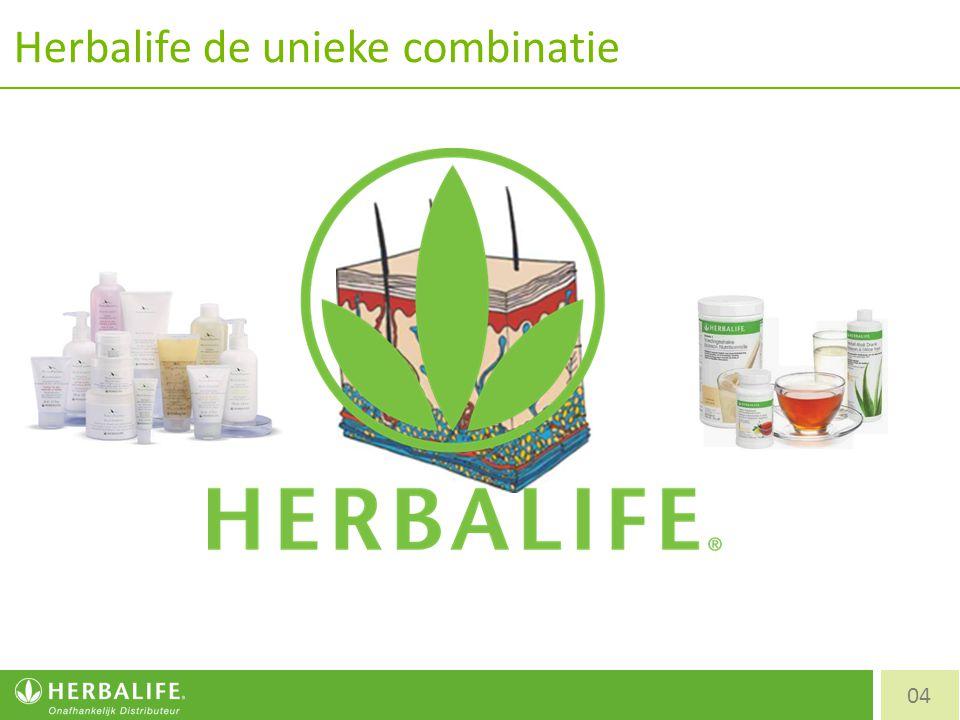 Herbalife de unieke combinatie