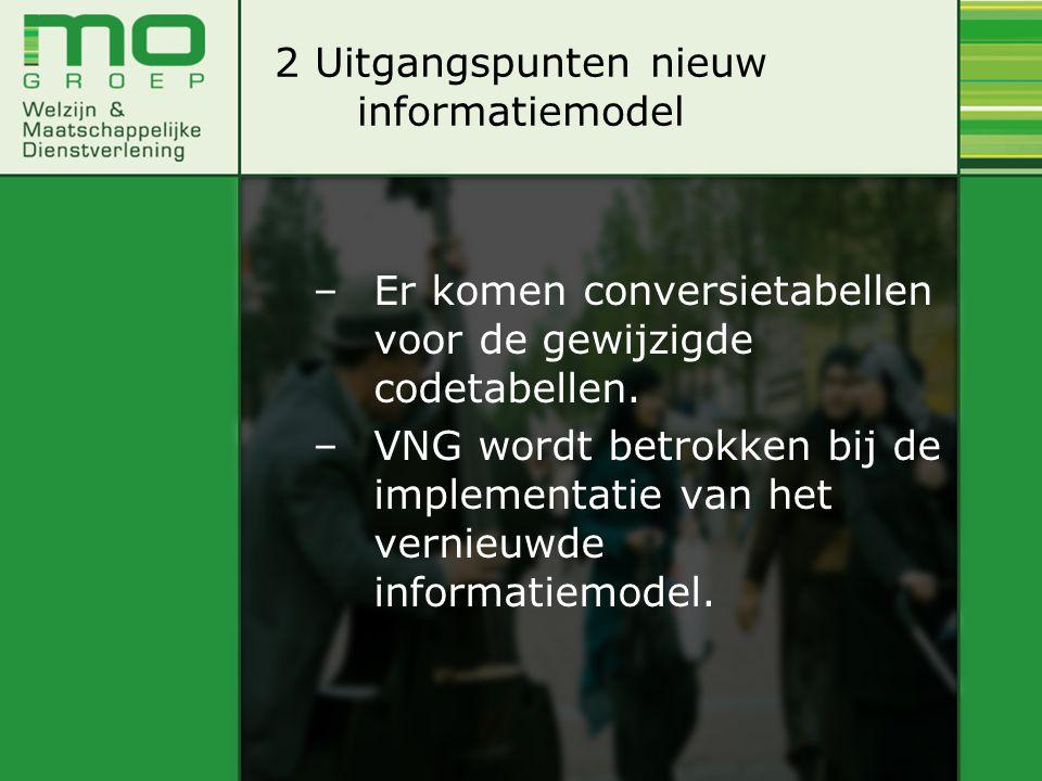2 Uitgangspunten nieuw informatiemodel