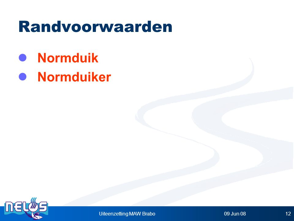 Nelos Presentatie - Verantwoordelijke uitgever : EDIT sectie