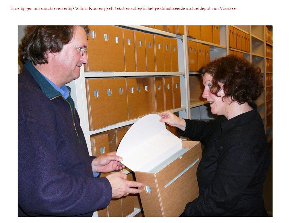 Hoe liggen onze archieven erbij