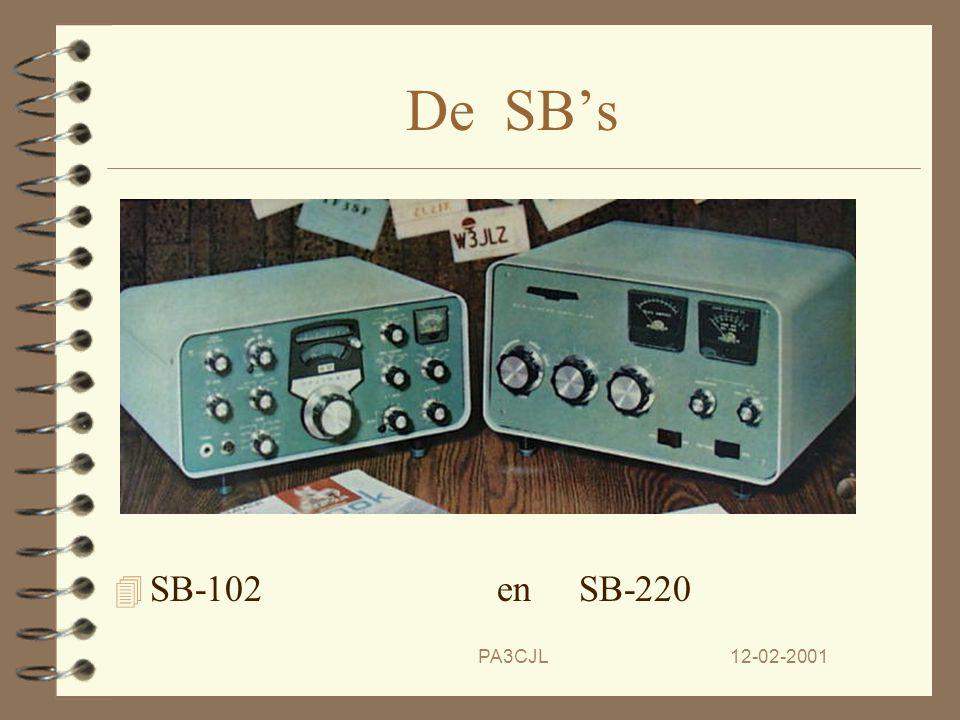 De SB's SB-102 en SB-220 PA3CJL 12-02-2001