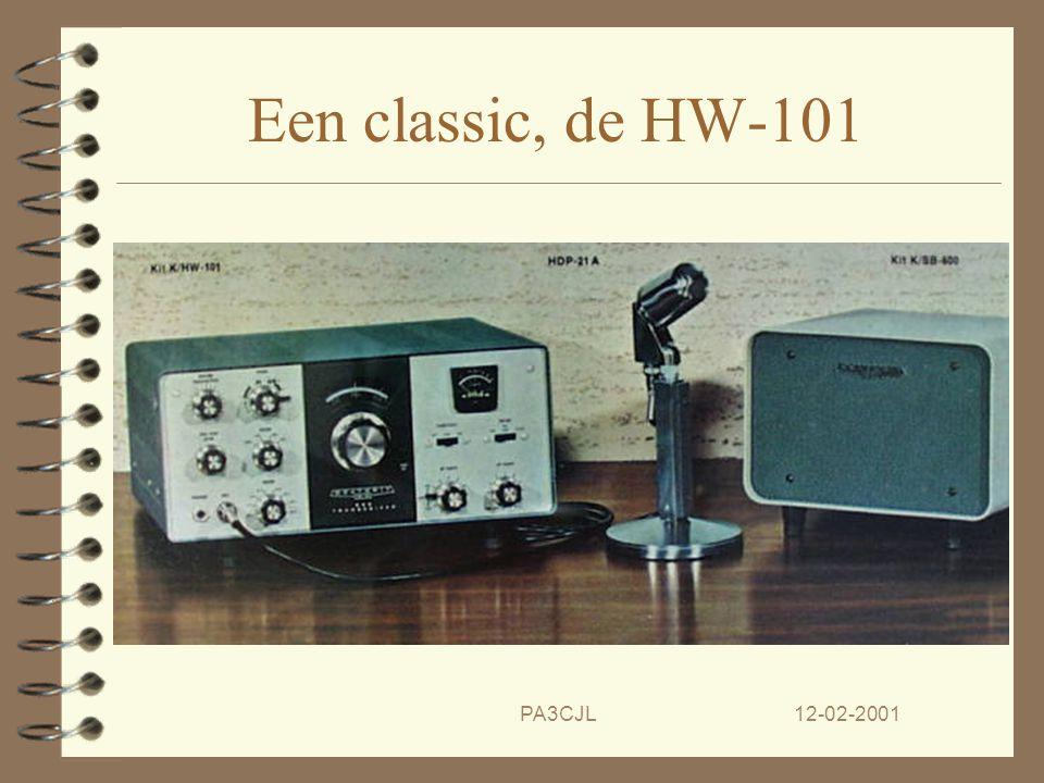 Een classic, de HW-101 PA3CJL 12-02-2001
