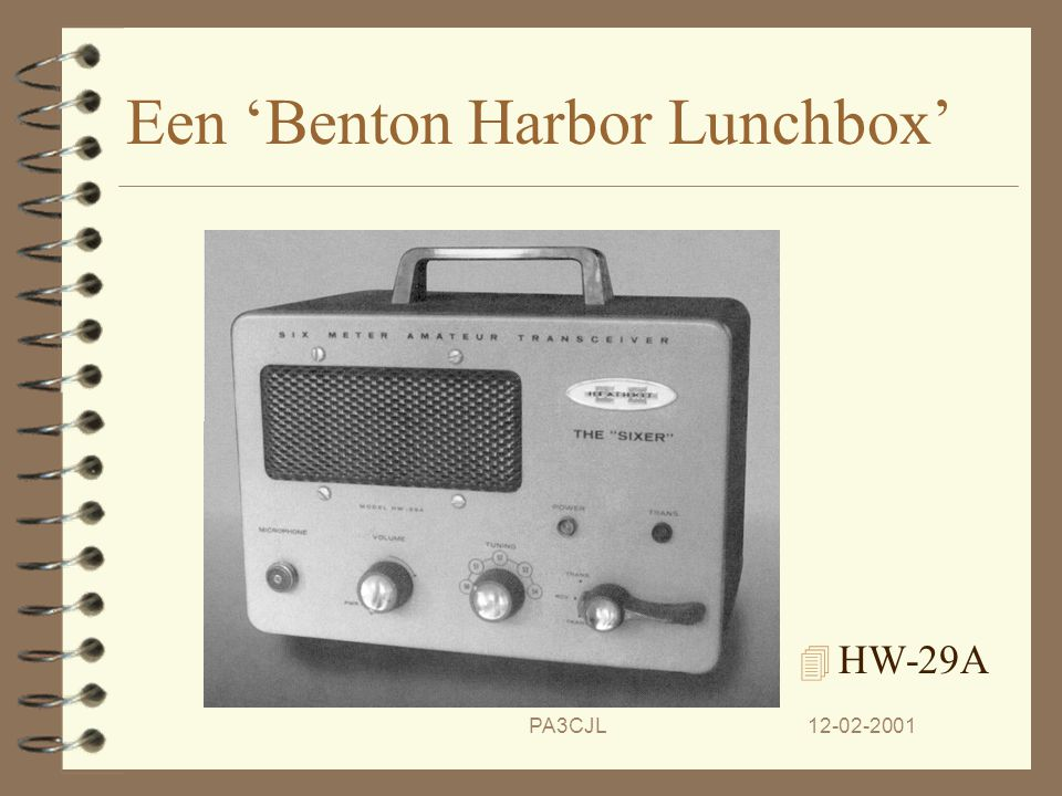 Een 'Benton Harbor Lunchbox'