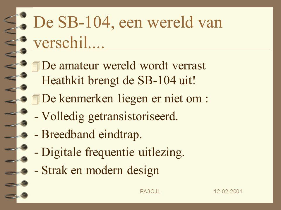 De SB-104, een wereld van verschil....