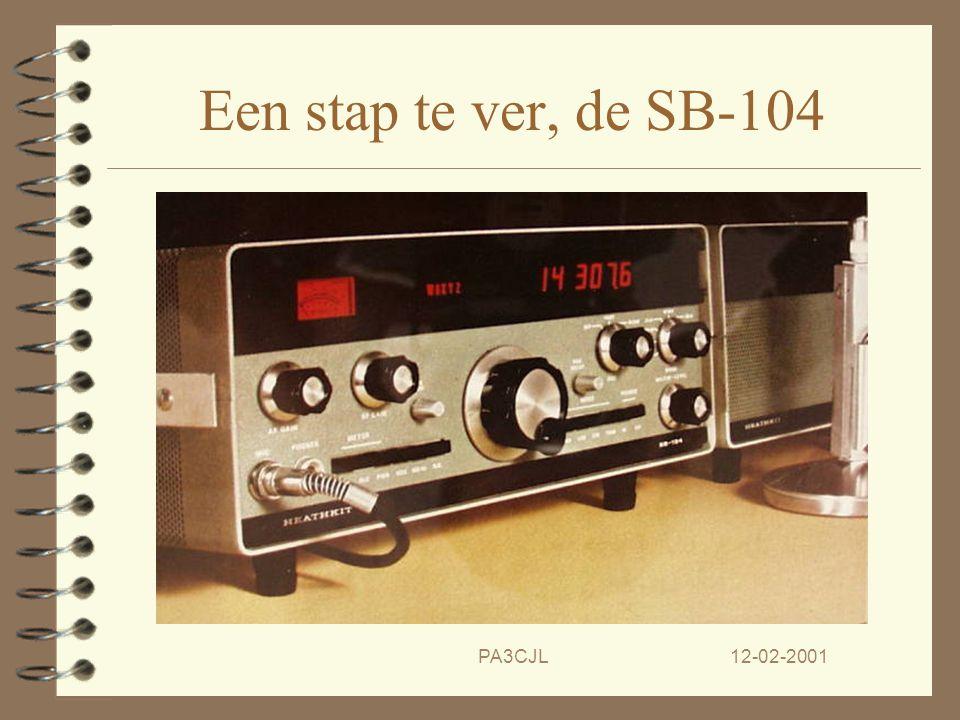 Een stap te ver, de SB-104 PA3CJL 12-02-2001