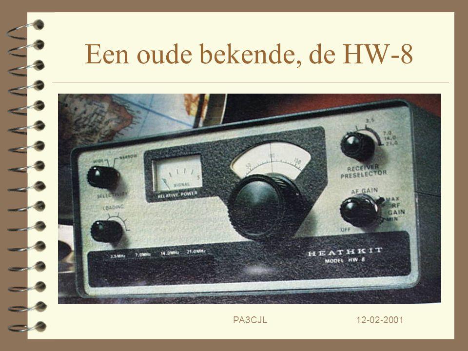 Een oude bekende, de HW-8 PA3CJL 12-02-2001