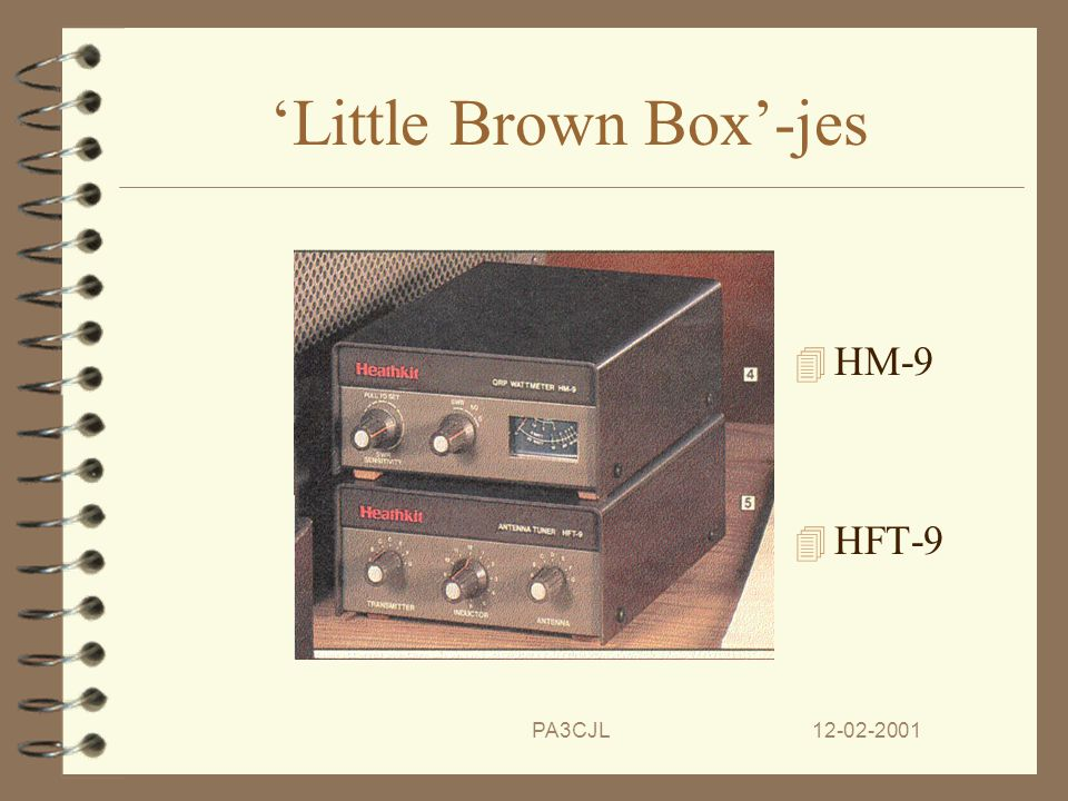 'Little Brown Box'-jes