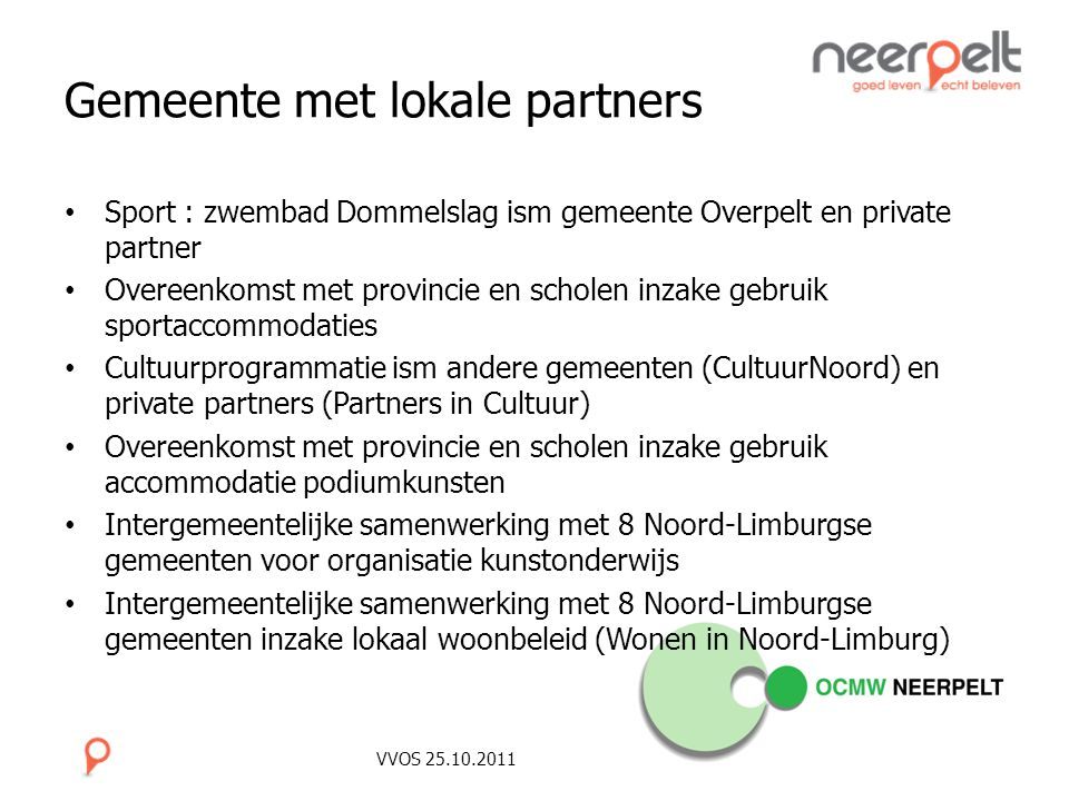 Gemeente met lokale partners